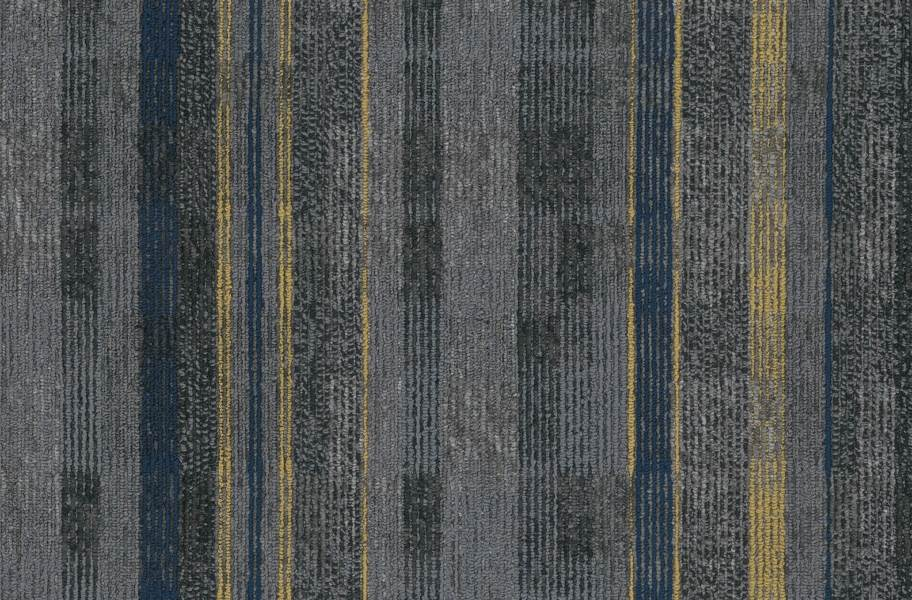 EF Contract Contact Sport Carpet Tiles - Square Off