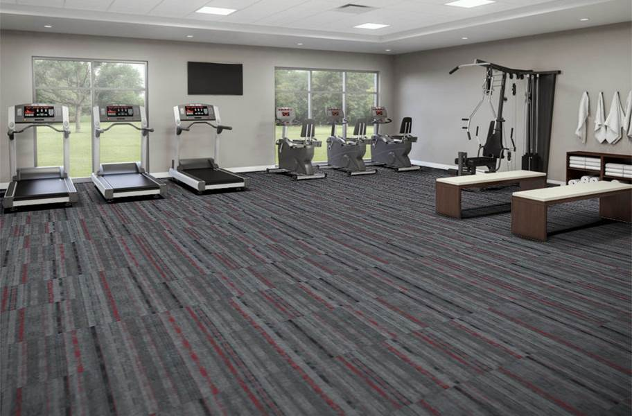 EF Contract Contact Sport Carpet Tiles - G.O.A.T.