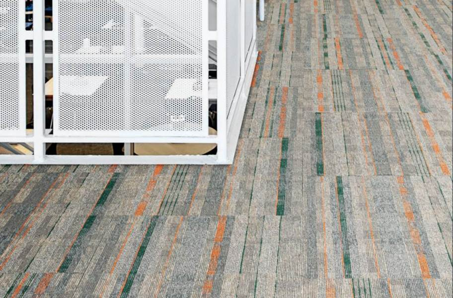 EF Contract Contact Sport Carpet Tiles - Teed Up