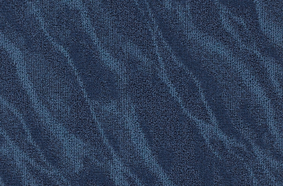 Joy Carpets Riverine Carpet Tiles - Baltic Blue