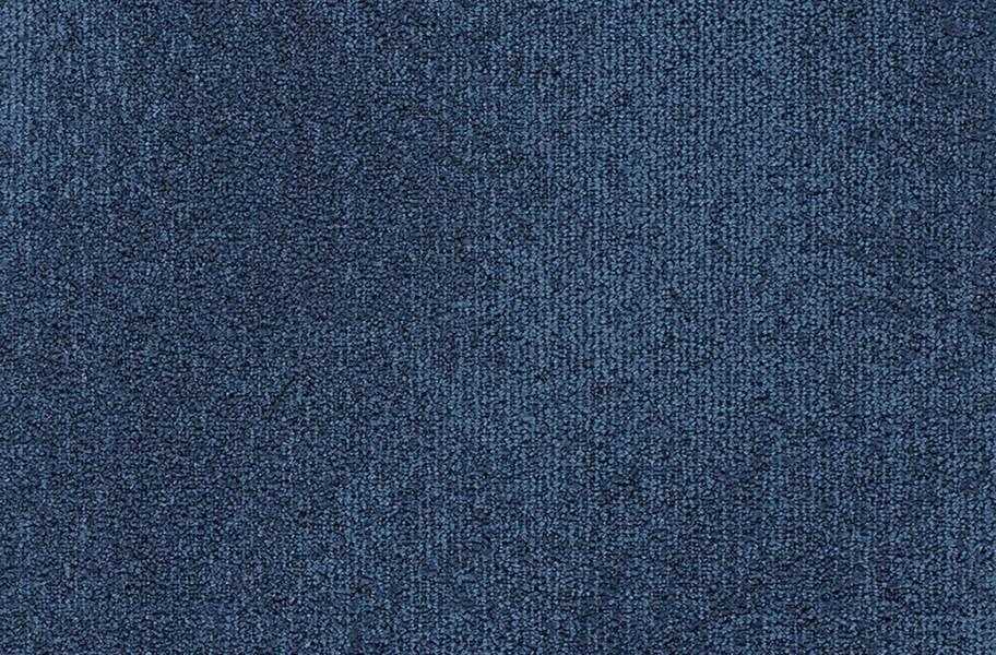 Joy Carpets Understatement Carpet Tiles - Baltic Blue