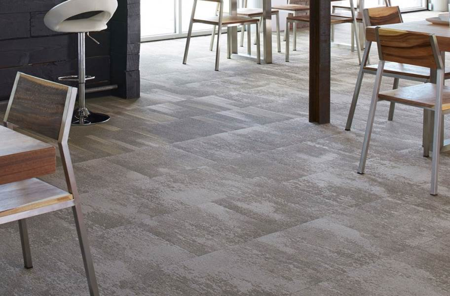 Joy Carpets Static Carpet Tiles - Graphite