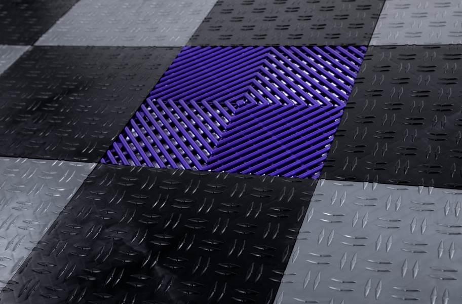 Grid-Loc Garage Tiles™ - Vented tile