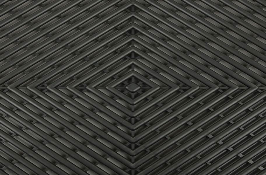 Grid-Loc Garage Tiles™ - Vented Harley Orange