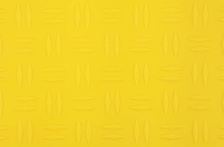 Grid-Loc Garage Tiles™ - Diamond Rally Yellow