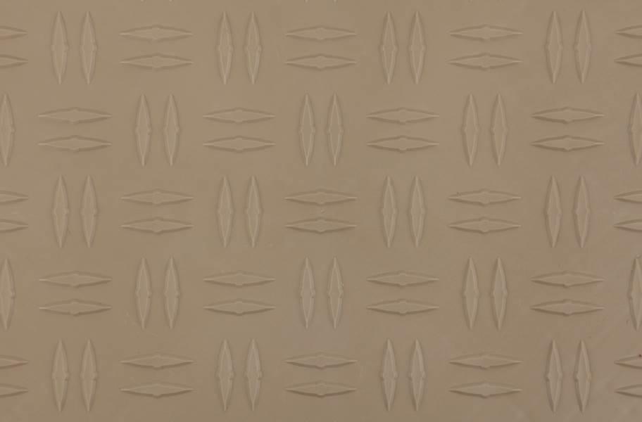 Grid-Loc Garage Tiles™ - Diamond Sahara Sand