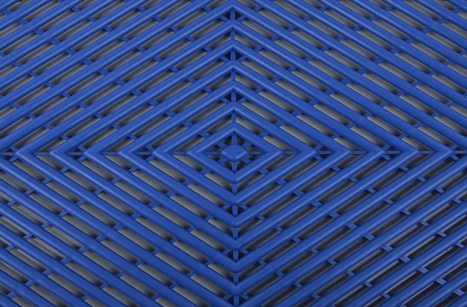 Grid-Loc Garage Tiles™ - Vented Shelby Blue