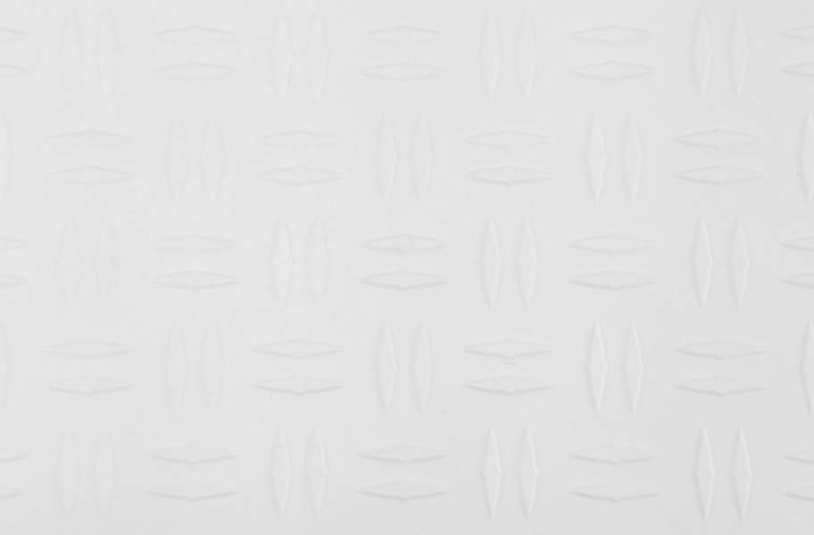 Grid-Loc Garage Tiles™ - Diamond Arctic White