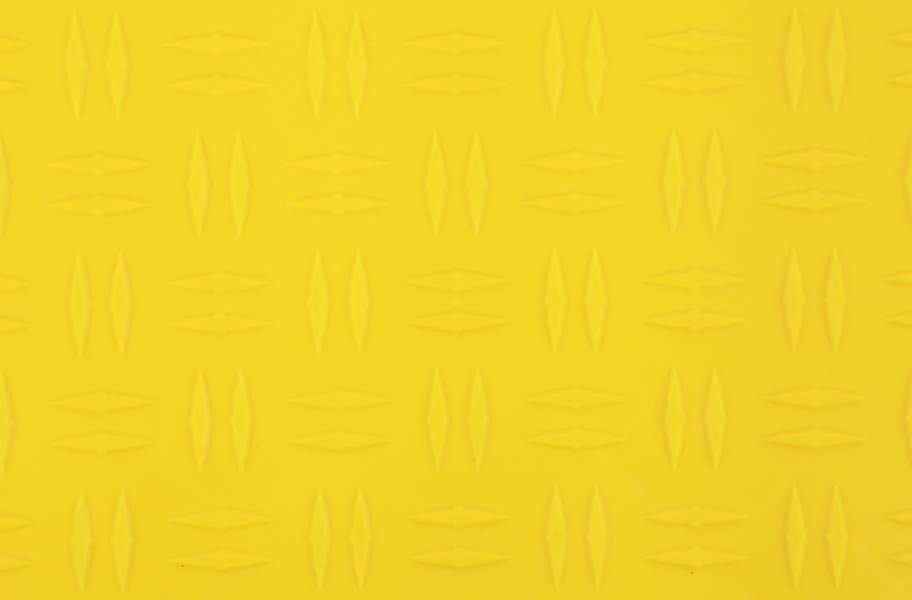 Grid-Loc Garage Tiles™ - Diamond Rally Yellow