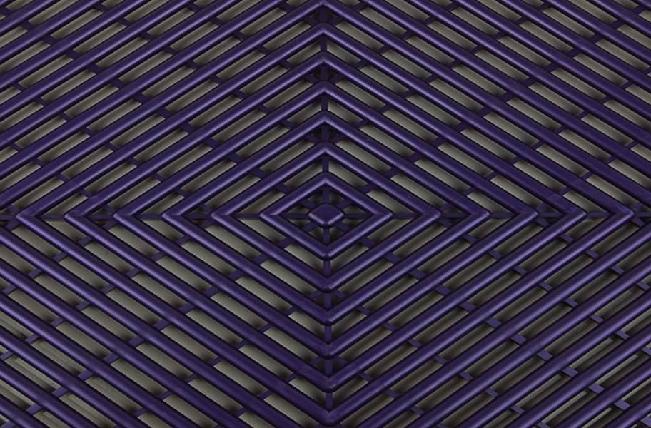 Grid-Loc Garage Tiles™ - Vented Imperial Purple