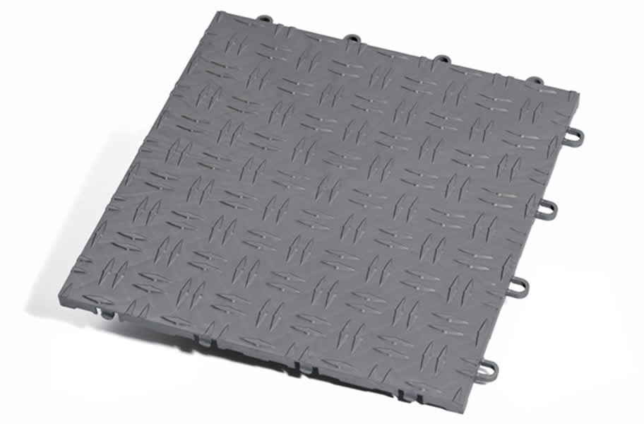 Grid-Loc Garage Tiles™ - Diamond tile