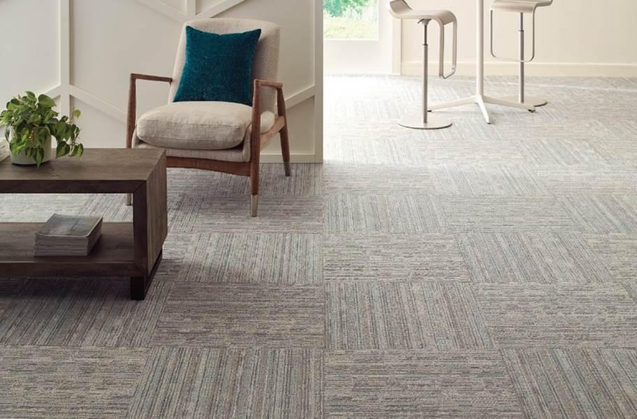 Shaw Stack Carpet Tile - Pleat