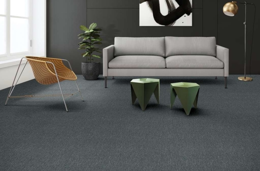 Shaw Beyond Limits Carpet Tile - Sea