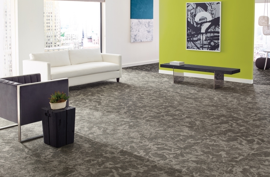 Shaw Esthetic Carpet Tile - Collective, Composition