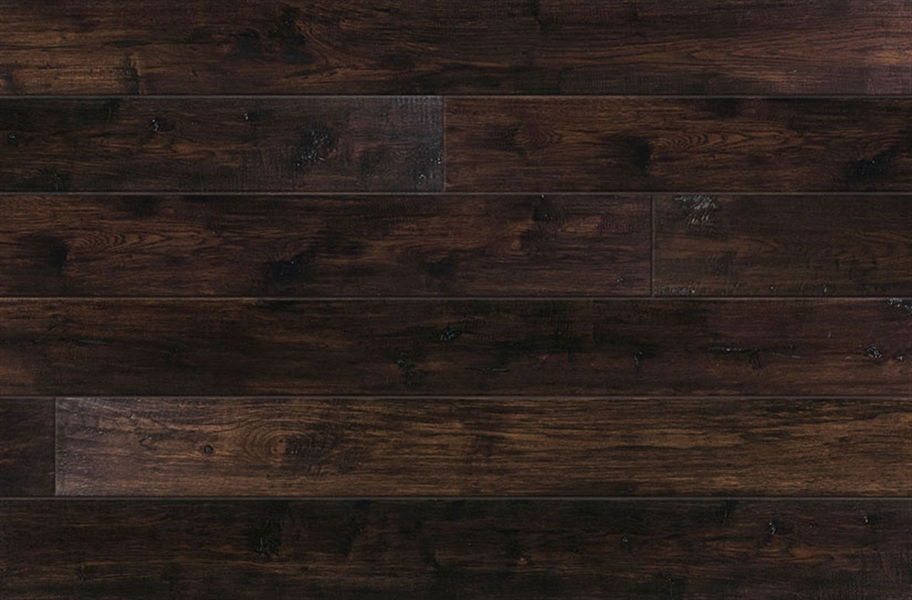 Vineyard Hickory Engineered Hardwood - Malbec