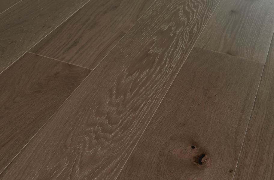 12mm Mannington Park City Oak Engineered Wood - Snowcap