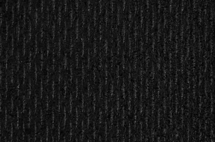 "1/2"" Rubber Gym Tiles - Quick Ship - Black"