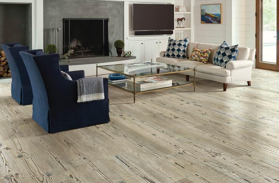 Shaw Anvil Plus 20 Rigid Core Vinyl Planks - Accent Pine