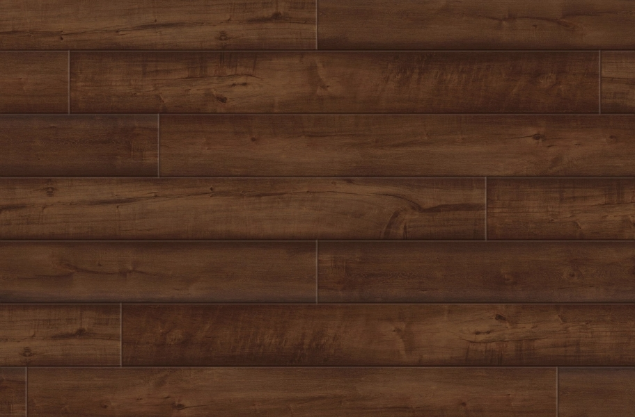 "Rustic House 7"" Rigid Core Vinyl Planks - Manhattan"