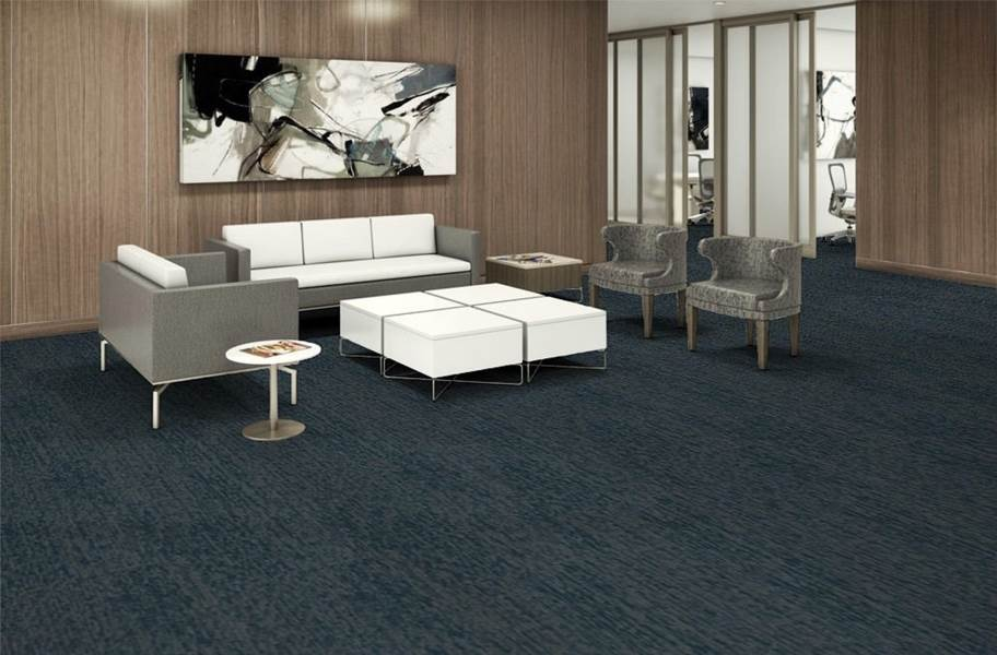 EF Contract Polaris Carpet Tiles - Midnight