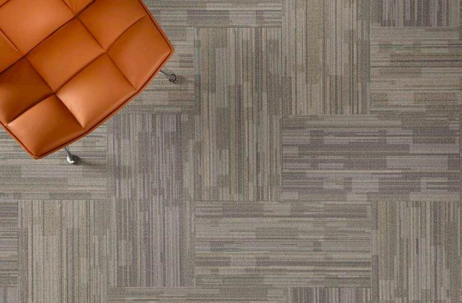 EF Contract Time Zone Carpet Tiles - Solar Linen