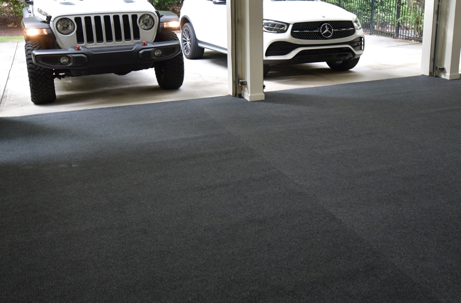 Garage Grip™ Non-Slip Floor Mats - Gray