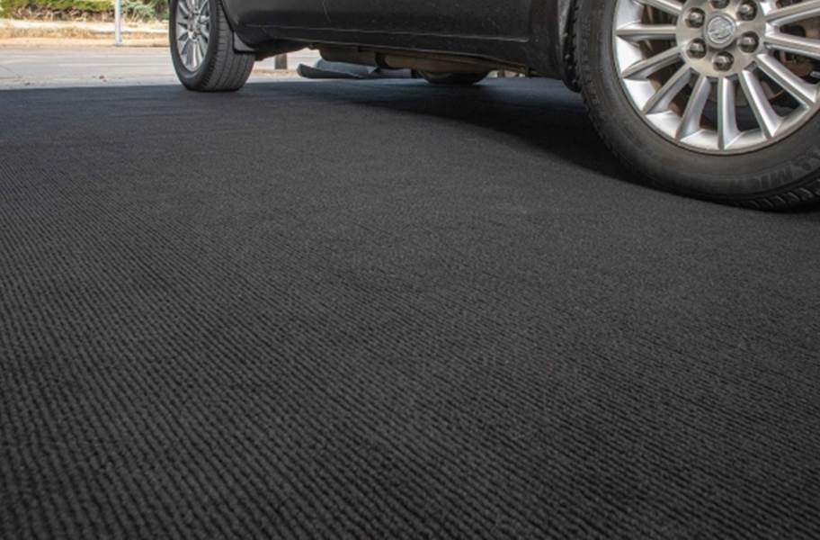 Garage Grip™ Non-Slip Floor Mats - Black