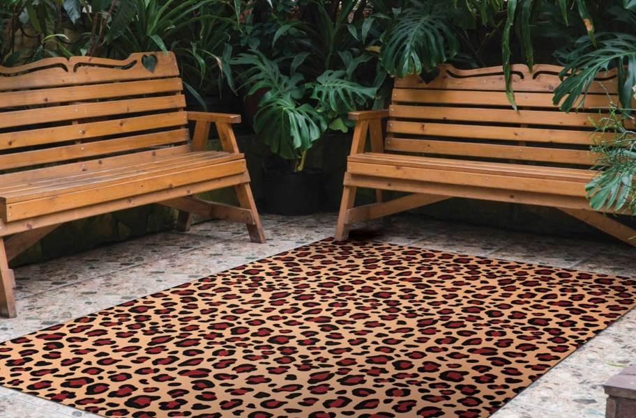 Leopard Indoor Outdoor Rug