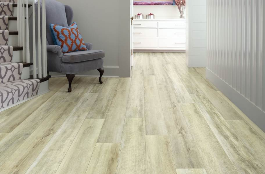 "Shaw Paragon XL HD Plus 7"" Rigid Core Vinyl Planks - Driftwood Oak"