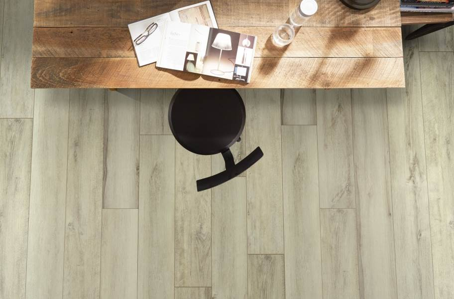 "Shaw Paragon XL HD Plus 7"" Rigid Core Vinyl Planks - Seashell White Oak"