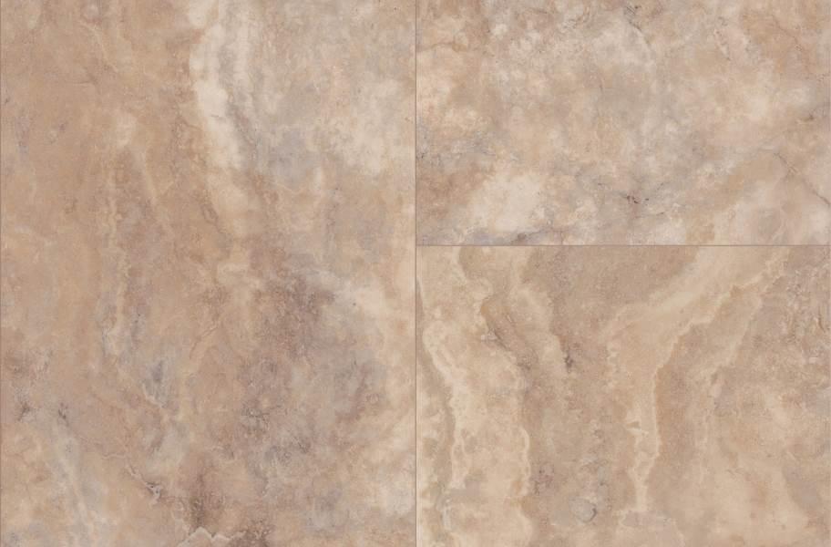 """Shaw Paragon Tile Plus 12"""" Rigid Core Vinyl Planks - Clay"""