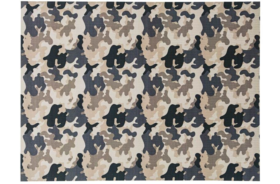 Camo Indoor Outdoor Rug - Taupe