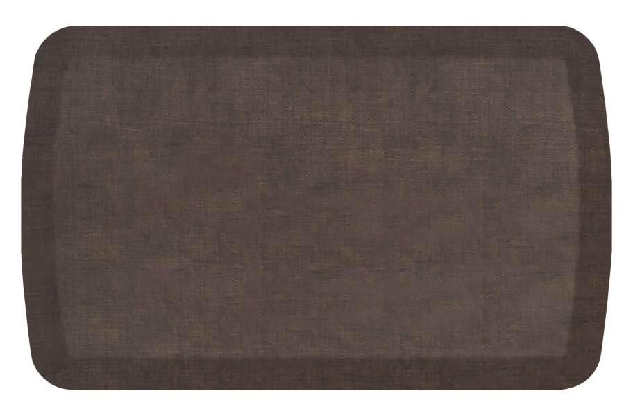 GelPro Basics Anti-Fatigue Mat - Woven Brownie