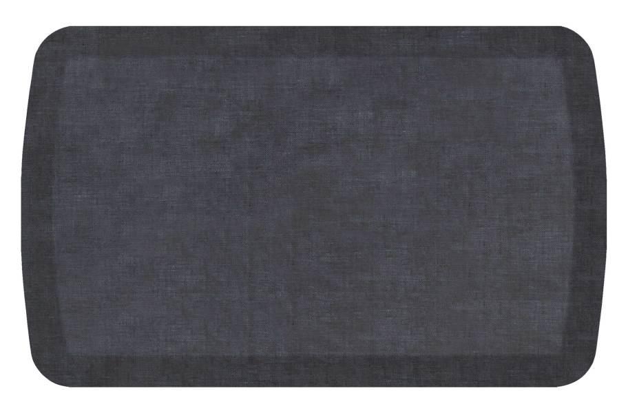 GelPro Basics Anti-Fatigue Mat - Woven Denim Blue