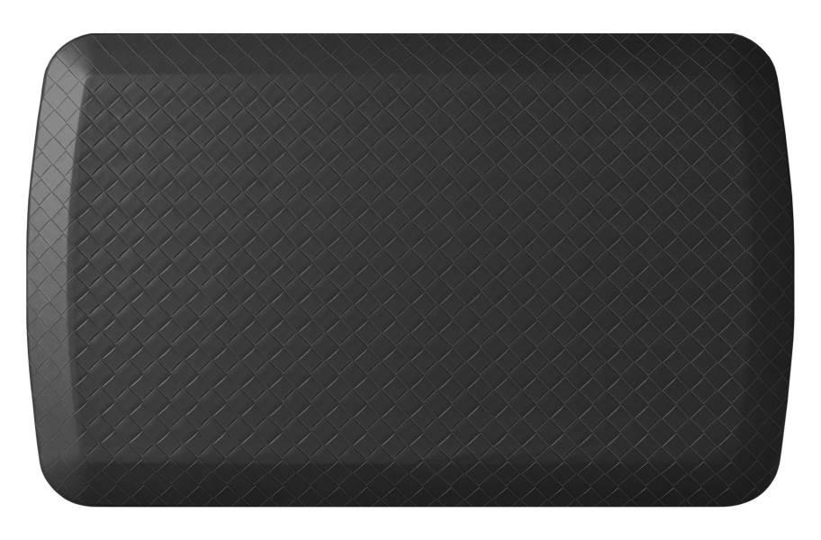 GelPro Basics Anti-Fatigue Mat - Basketweave Black