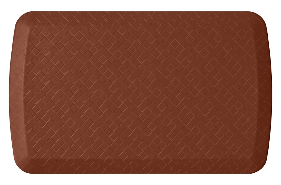 GelPro Basics Anti-Fatigue Mat - Basketweave Chestnut