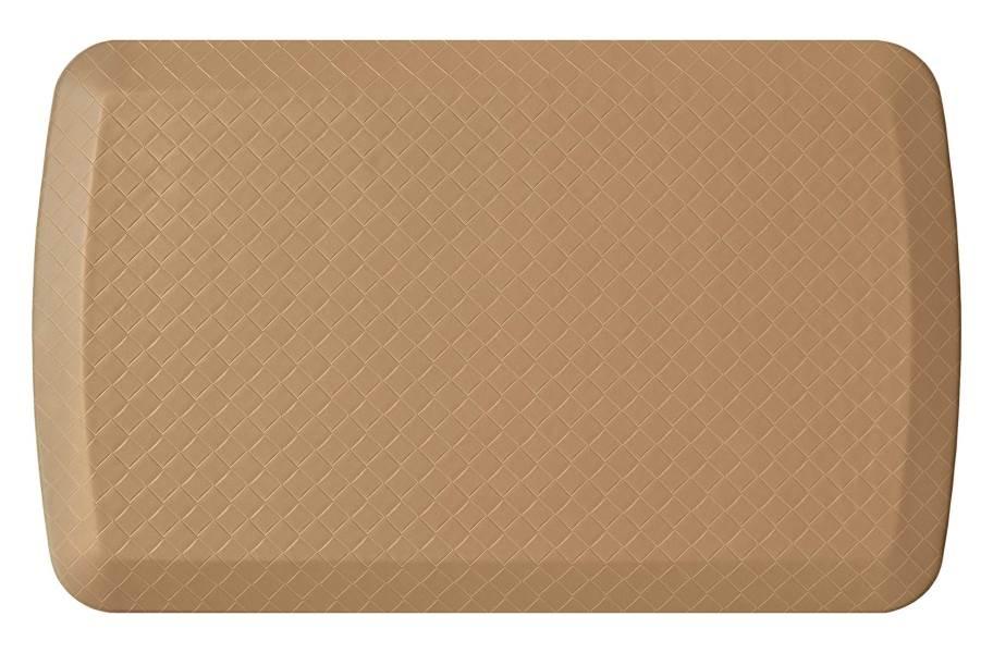 GelPro Basics Anti-Fatigue Mat - Basketweave Khaki
