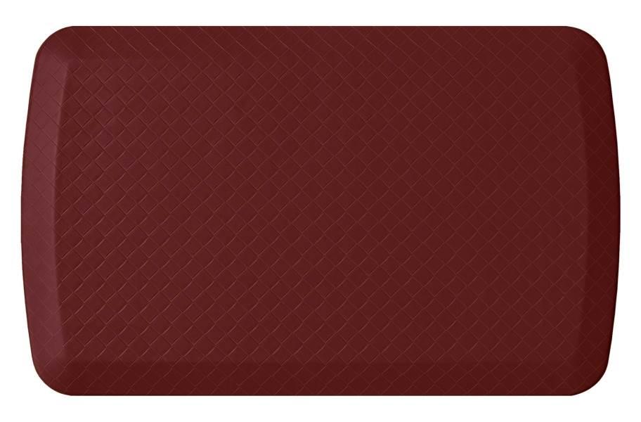 GelPro Basics Anti-Fatigue Mat - Basketweave Cranberry