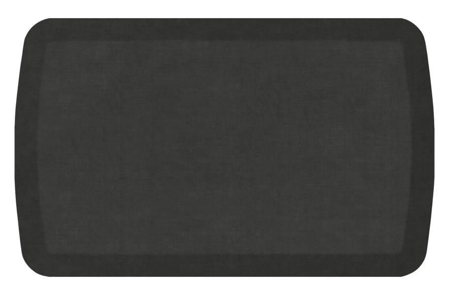 GelPro Basics Anti-Fatigue Mat - Woven Thunder Grey