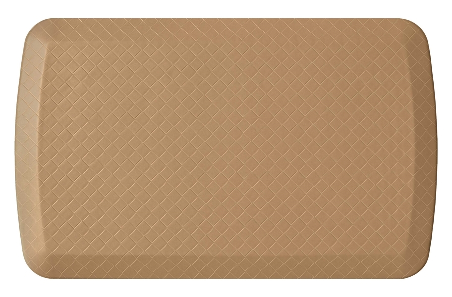 GelPro Basics Anti-Fatigue Kitchen Mat - Basketweave Khaki