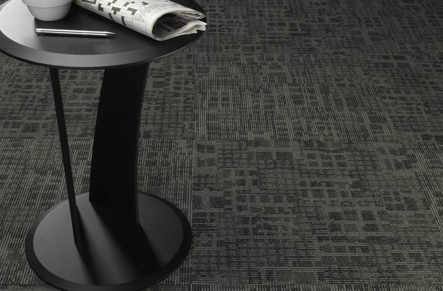Pentz Techtonic Carpet Tiles - Framework - Quarter Turn Installation