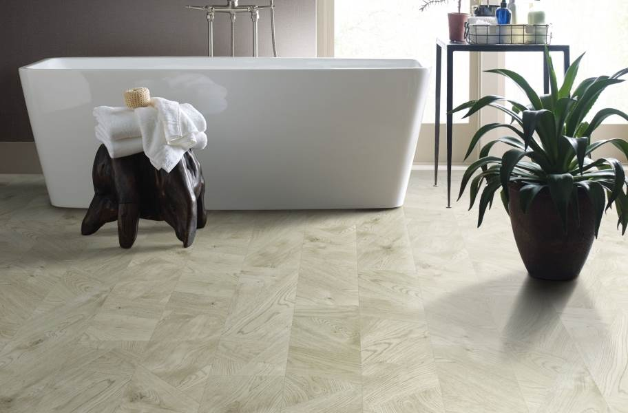 "Shaw Tenacious HD Plus 7"" Rigid Core Vinyl Planks - Spanish Moss"