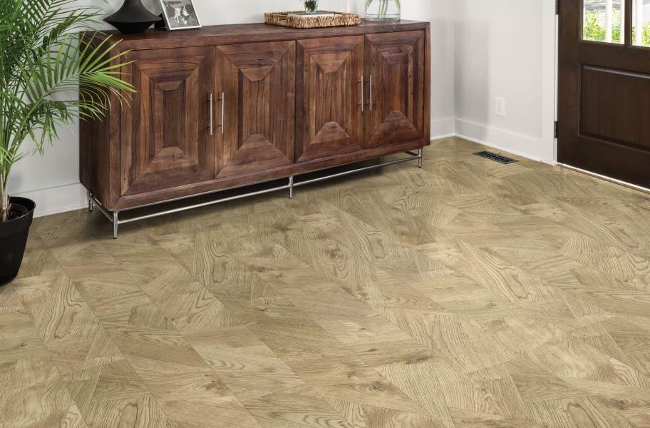 "Shaw Tenacious HD Plus 7"" Rigid Core Vinyl Planks - Bazaar Bronze"
