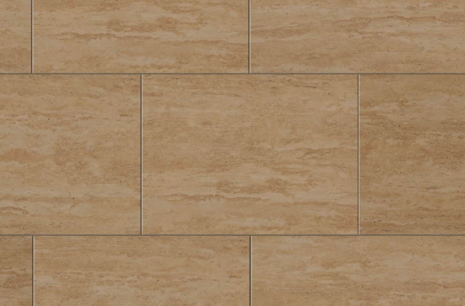 "Pietra 12"" Rigid Core Vinyl Planks - Sandstone"