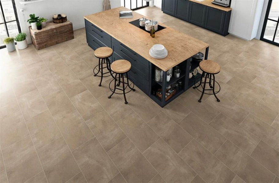 "Pietra 12"" Rigid Core Vinyl Planks - Quarry"