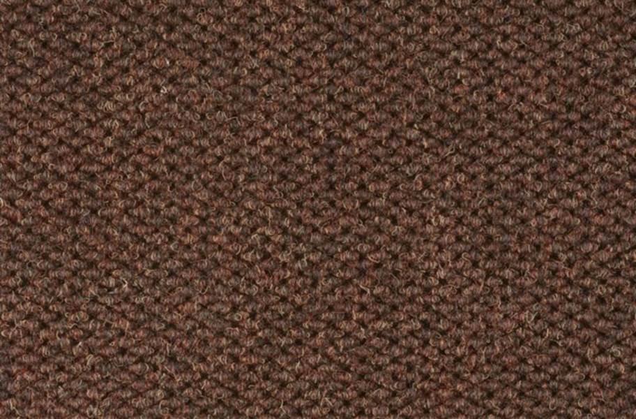 Shaw Succession II Walk-Off Carpet Tile - Dark Earth