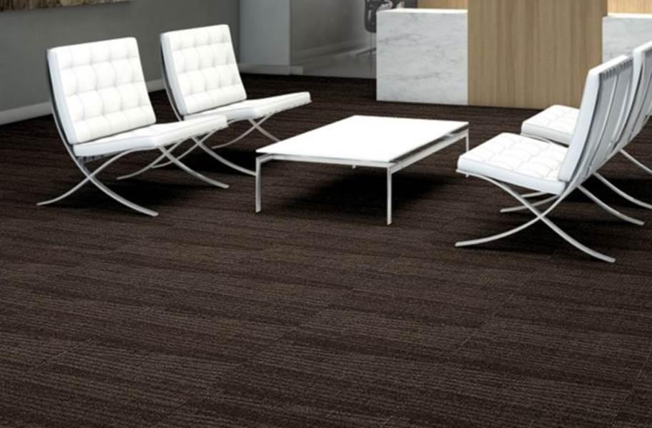 Shaw Take A Turn Walk-Off Carpet Tile - Stride