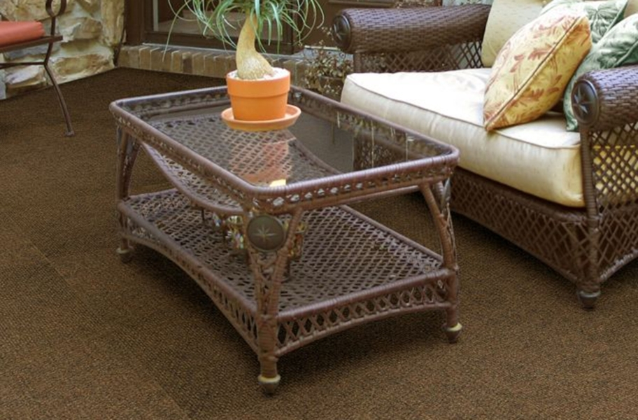 Shaw Succession II Walk-Off Carpet Tile - Hammered