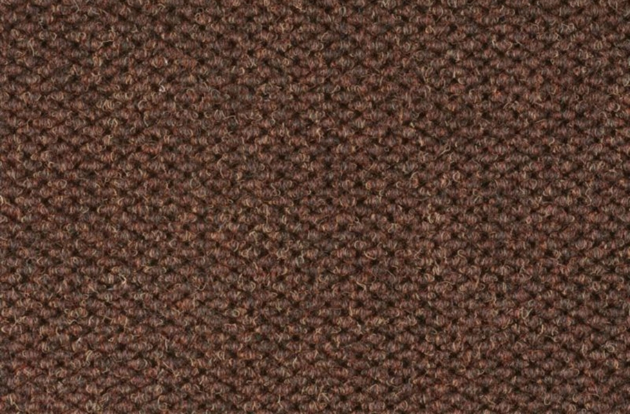 Shaw Succession II Walk-Off Carpet Tile - Dark Earth