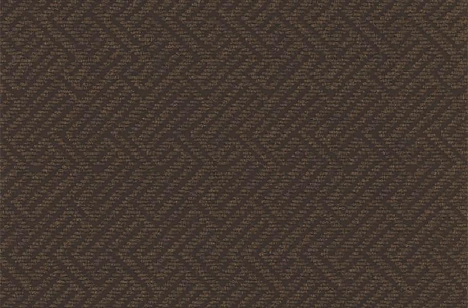 Shaw Tread On Me Walk-Off Carpet Tile - Garden Floor